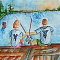 Yankee Fans Day Off by Elaine Duras