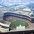 Yankee Stadium Aerial by Retro Images Archive