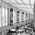 Yankee Stadium Hall Of Fame by Dave Beckerman
