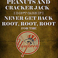 Yankees Peanuts And Cracker Jack  by Movie Poster Prints
