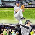 Yankees Vs Indians by Thomas J Herring