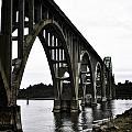 Yaquina Bay Bridge - Series D by Image Takers Photography LLC - Laura Morgan