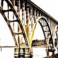 Yaquina Bay Bridge - Series G by Image Takers Photography LLC - Laura Morgan