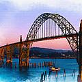 Yaquina Bay Bridge by Don Kuing