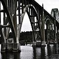 Yaquina Bay Bridge - Series J by Image Takers Photography LLC - Laura Morgan