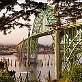 Yaquina Bay Bridge Morning Light by Darren  White