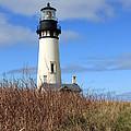 Yaquina Bay Lighthouse by Athena Mckinzie