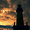 Yaquina Head Lighthouse 5 by Cathy Anderson