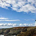 Yaquina Head Lighthouse by Mary Jo Allen