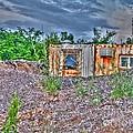 Yard Office Shack by MJ Olsen