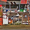 Yard Sale by Chuck  Hicks
