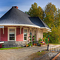 Yarmouth Grand Trunk Railroad Station I by Clarence Holmes
