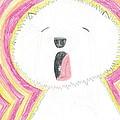 Yawning Doggie by Fred Hanna
