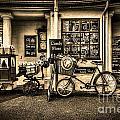 Ye Olde Sweet Shoppe Sepia by Steve Purnell
