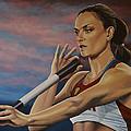Yelena Isinbayeva   by Paul Meijering