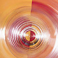 Yellow And Red Abstraction by Shawn Johnson