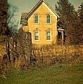 Yellow Brick Farmhouse by Jill Battaglia