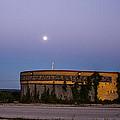 Yellow Building by Angus Hooper Iii