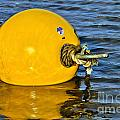 Yellow Buoy by Susie Peek