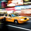 Yellow Cab by Chris Halford