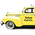 Yellow Cab Square by Edward Fielding