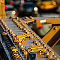 Yellow Cabs by Alyaksandr Stzhalkouski