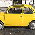 Yellow Car by Chevy Fleet