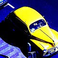 Yellow Car by Guy Pettingell