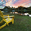 Yellow Chair by Eric Gendron