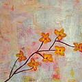 Yellow Cherry Blossoms by Jennifer Hunteman
