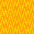 Yellow Chevron Waves by Cassie Peters