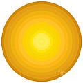Yellow Circles by Frank Tschakert