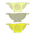 Yellow Colander by Amy Cummings