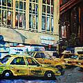 Yellow Congestion by Lauren Luna