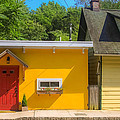 Yellow Cottage by Kathleen McGinley