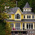 Yellow Cottage by Les Palenik