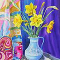 Yellow Daffodils by Irina Sztukowski