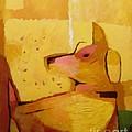 Yellow Dog by Lutz Baar