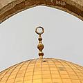 Yellow Dome by Munir Alawi
