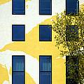 Yellow Facade In Berlin by RicardMN Photography