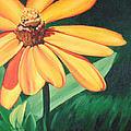 Yellow Flower by Carlynne Hershberger