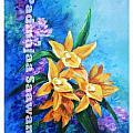 Yellow Flower by Nalini Sawant