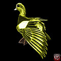 Yellow Fractal Wigeon 7702 - Bb by James Ahn