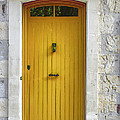 Yellow French Door by Georgia Fowler