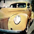 Yellow Gangsta Street Rod by Tim Nyberg