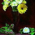 Yellow Gerbera by Paul Tremlin