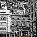 Yellow Lisbon Trolley by Timothy Hacker