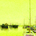 Yellow Mooring by Jim Pavelle