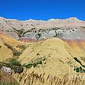 Yellow Mounds Badlands National Park by Jemmy Archer