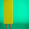 Yellow Oblong Box by Bob Orsillo